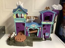 Matchbox Haunted House Playset W/ Sounds Incomplete 2003 Mattel