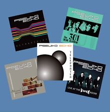 PSEUDO ECHO 5 CD COMPLETE ALBUM SET !