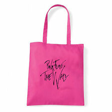 Art T-shirt, Borsa  Pink Floyd The Wall Firma, Fucsia, Shopper, Mare