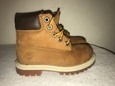 Timberland Boots Kids/Toddler Premium Wheat Size 8