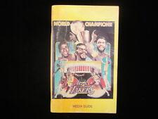 1982-83 Los Angeles Lakers Basketball Media Guide