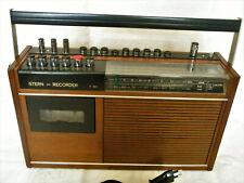 Original Holz Decor für den DDR Kult Stern Recorder Type R 160 zur Restauration