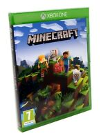 Minecraft Xbox One S Edition Game Disc Download - New and Sealed
