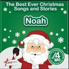 NOAH - THE BEST EVER CHRISTMAS SONGS & STORIES PERSONALISED CD