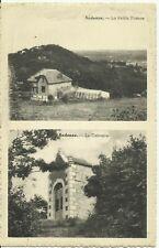 Andenne -- 1 carte 2 vues - La petite France  et Le Calvaire.    (2 scans)