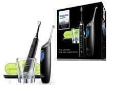 PHILIPS SONICARE DiamondClean RECHARGEABLE Toothbrush +AIRFLOSS Black HX8491/03