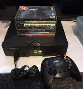 Original Xbox Console Bundle - With GREAT games And Controllers Boxed
