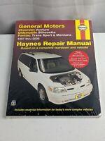 Haynes General Motors Chevrolet Venture Oldsmobile Silhouette Pontiac 38036
