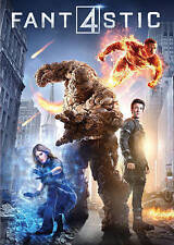 Fantastic Four (DVD, 2015)