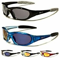 X-LOOP MENS WOMENS BOYS SPORT BIKER RUNNING BLACK WRAP DESIGNER SUNGLASSES UV400