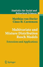 Multivariate and Mixture Distribution Rasch Models: Extensions and Applications