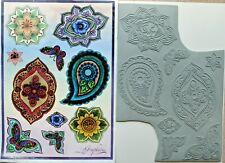Graphics a4 Sheet Unmounted Rubber Stamps Floral New as Shown