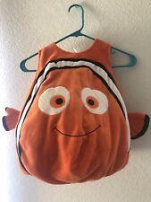 VGUC Disney Store Finding Nemo 3D Plush Costume Size 3T No Hat