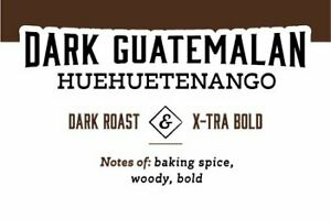Dark Guatemalan | 72 K-Cups, 2.0 Compatible | Fresh Roasted Coffee