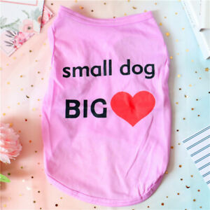 Teacup Chihuahua Dog Shirt Small Dog Clothes Size XSmall to Medium for Yorkie