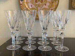 Vintage Waterford Shandon Pattern Champagne Flute Glasses Set of 12