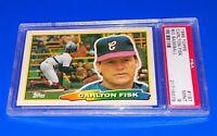 1988 Topps Big Baseball Carlton Fisk Card #197 PSA 9 Mint Chicago White Sox HOF