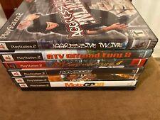 Lot Of 7 Playstation 2 PS2 Games Extreme Sports, Tony Hawk, ATV, MX, Inline, Etc
