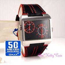 Quartz (Battery) Rectangle Analogue Unisex Wristwatches