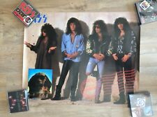 KISS PROMO POSTER HOT IN THE SHADE 1989
