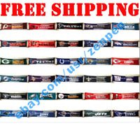 FULL 32 NFL 2x8 ft Banner Flags 10 Grommets Wall Home Decor - Pick Your Team