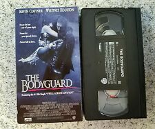 The Bodyguard Kevin Costner Whitney Houston VHS Video Tape