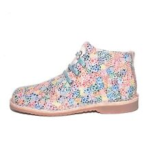Bo-bell Girls Team Multicoloured Leather Lace Desert Boots UK 12 EU 30 RRP £54