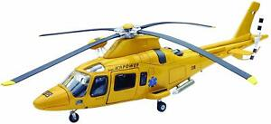 Model Helicopter Agusta AW-109 Power Rescue Medical Italian Choose 1/43 AW109