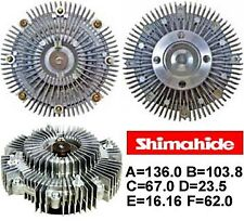 FITS 99-02 HONDA PASSPORT 3.2L V6  FAN CLUTCH SHIMAHIDE MADE IN JAPAN