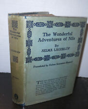 Selma Lagerlof The Wonderful Adventures of Nils 1922 HB/DJ Swedish Fairy Novel
