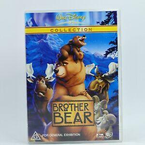 Brother Bear DVD Walt Disney Classics R4 Movie PAL Good Condition