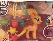 My Little Pony  - APPLE JACK Twisty Twirly Hairstyles & Accessories HASBRO NEW