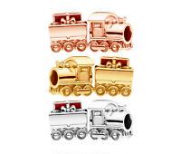 PANDORA Christmas Train Charm 797519EN27 14K Gold Vermeil / 18K Rose Gold Plated