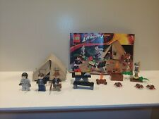 100% complete LEGO Indiana Jones Jungle Duel 7624 -  w/ Minifigs & Manual