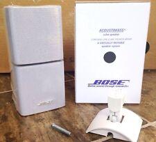 Bose Double Cube Speaker DoubleShot and Mount Acoustimass Lifestyle Mint