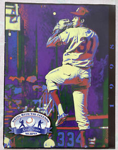 FERGIE JENKINS CHICAGO CUBS Rare MLB Alumni Magazine - Mint