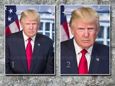 Donald Trump official White House photo, CHOICES two 5x7s or request one 8x10 or