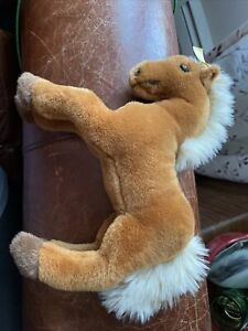 "Steiff Little Friend Fenny Horse Russet Plush 9"" Stuffed Animal Toy 280207"