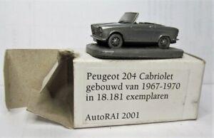 Autosculpt 1:92 Peugeot 204 Cabriolet OVP AutoRai 2001 Cabrio