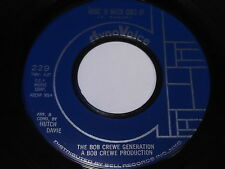 The Bob Crewe Generation: Music To Watch Girls By / Girls On The Rocks 45