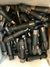 1 Case 43 Batson  Hooded Gunsmoke / Black Saltwater Reel Seats G24