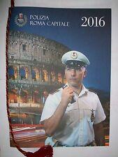 Calendario Polizia di Roma Capitale 2016