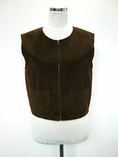 MARELLA by MAX MARA GILET TG 42 SIZE S VELLUTO ORIGINALE MADE IN ITALY
