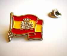 Spain National Flag Spanish Emblem Lapel Pin España Badge New