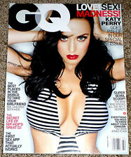 GQ Magazine February 2014 KATY PERRY Cover Love! Sex! Madness! NO LABEL