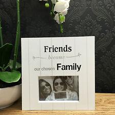 Modern Laser Cut Wooden Photo Frame - Friend Birthday Gift - 4061fr