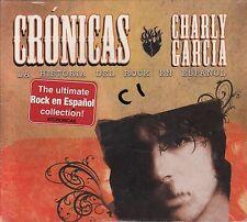 Charly Garcia Cronicas La Historia Del Rock En Espanol Caja De Carton CD New