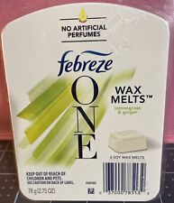 Febreze One Wax Melts Lemon Grass & Ginger New Air Freshener