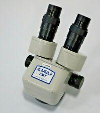 Meiji Emt Stereo Zoom Microscope 18467