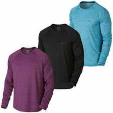 Polyester Long Sleeve Striped T-Shirts for Men